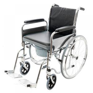 Кресло-каталка инвалидная складная с санитарным устройством Barry W5